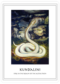 Kundalini Card, Fire in the Realm of the Active Path