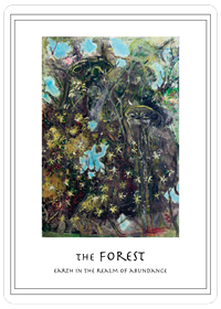 The Forest Card, Earth in the Realm of Abundance
